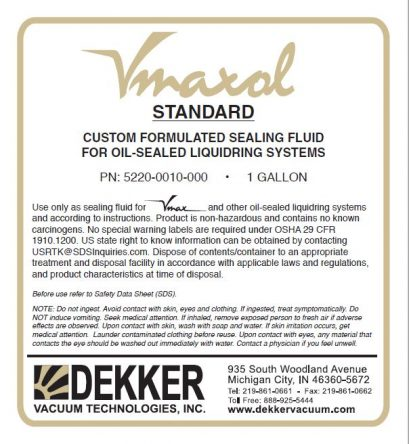 Standard VMAX Oil