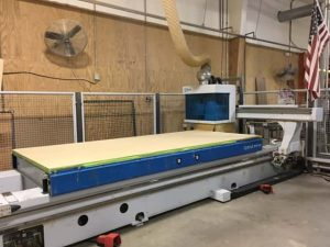 Machine Center with NESTING Table WEEKE - BHP 200