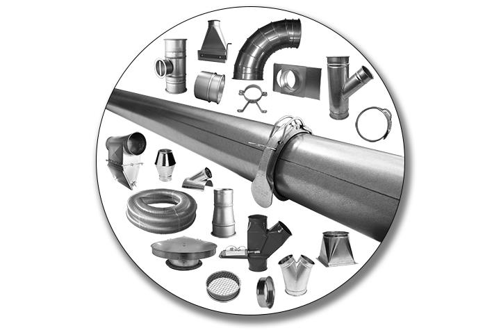Dust Collection Pipe & Fittings
